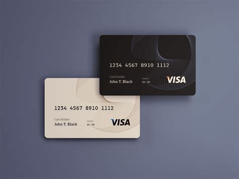 plastic credit card business card mockup psd template credit cards mockup psd