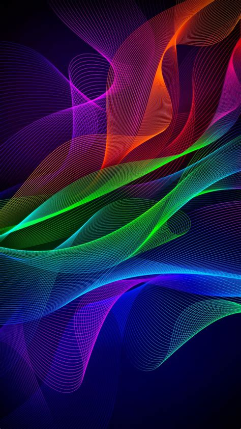 colorful abstract razer phone stock wallpapers hd wallpapers id