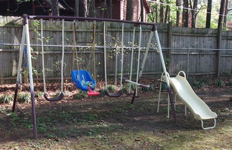 old metal swing set 2 pennies 2 rub 187 blog archive 187 love the flexible flyer