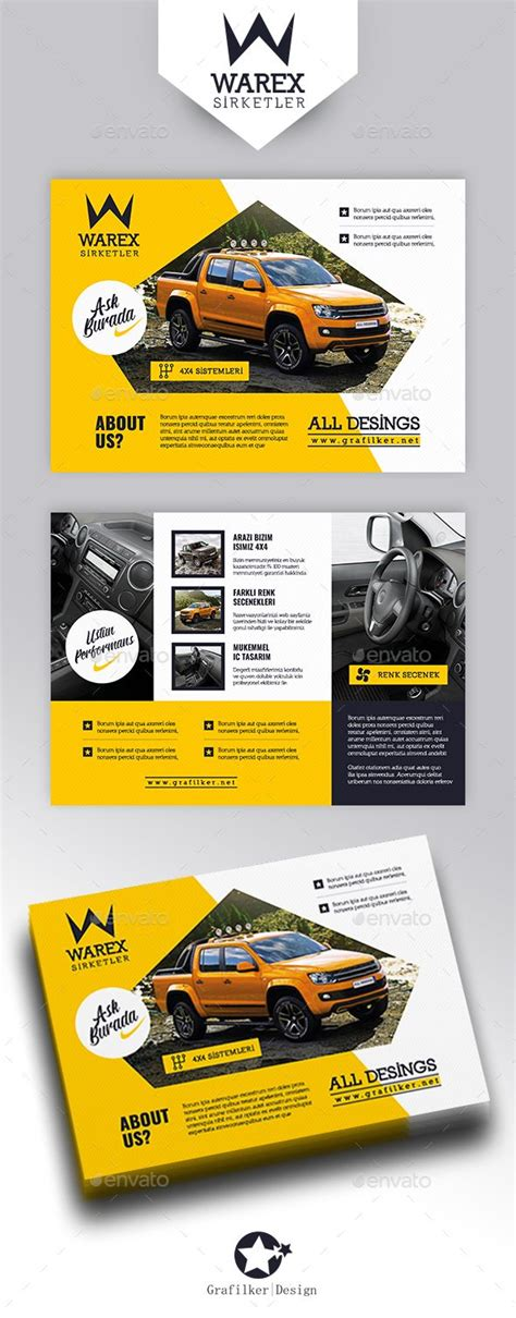 Introduction Flyer Template automobile introduction flyer templates banner