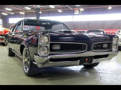 1966 pontiac gto test drive classic muscle car for sale in