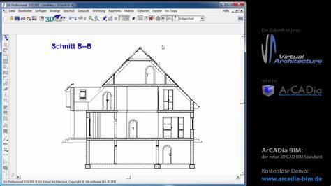 tutorial autocad deutsch projekte erzeugen von 2d 3d schnitten im va