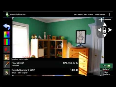 house painter app house painter pro an app to paint your house youtube