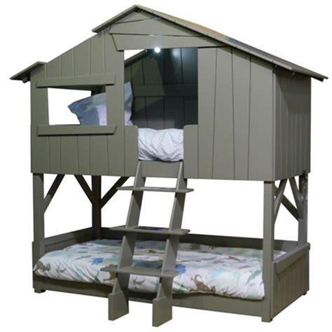 mathy by bols kids treehouse bunkbed in artichoke cuckooland