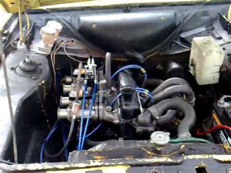 how do cars engines work 2004 ford escort electronic valve timing mk2 escort 1620 xflow on twin dellorto dhla 40 s poorly engine youtube
