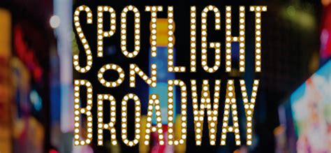 spotlight on broadway isg productions