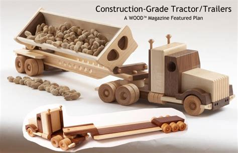 woodworking plans for toys 187 plans for wood trucks pdf plans for wood