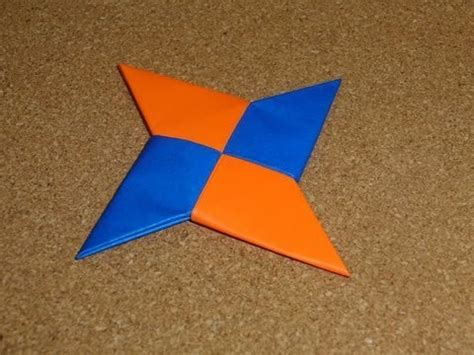 Shuriken Origami - how to make a hoe maak je een werpster doovi