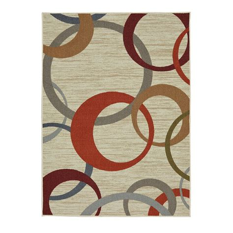 mohawk rainbow rug mohawk home picturale rainbow 5 ft x 7 ft area rug 002211 the home depot