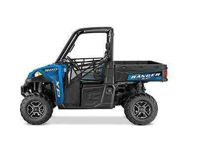 new 2016 polaris ranger xp 900 eps velocity blue atvs for