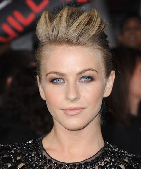 back view of julianna houghs hairstyle julianne hough updo long straight casual updo hairstyle