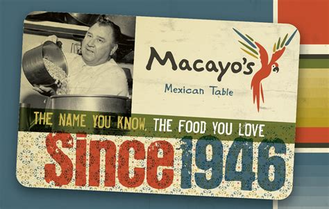 How To Find Out Gift Card Balance - macayo gift cards macayo s mexican restaurants