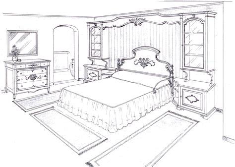 disegni di camere da letto da letto in prospettiva vent anni di disegni dell
