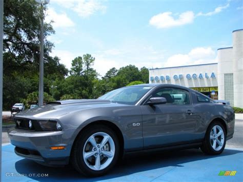Forde Gry Grey 2011 sterling gray metallic ford mustang gt premium coupe