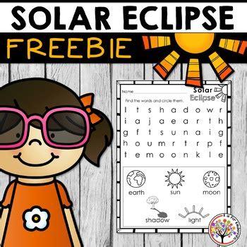 Solar Eclipse Address Search Free 2017 Solar Eclipse Worksheet Prek 1
