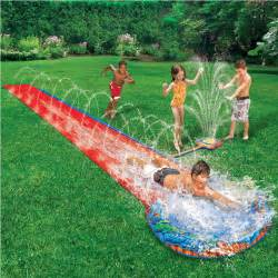 wasserrutsche garten childrens soak n splash 16 aqua garden water slide