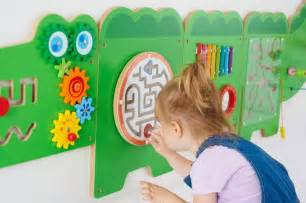Crocodile wall game special needs wall toys sensory room wall toys