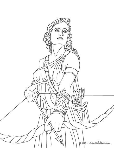 artemis the greek goddess facts for kids