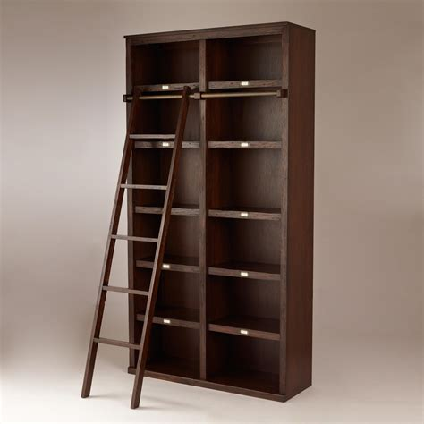 bookcase with ladder and rail 15 collection of bookcases with ladder and rail
