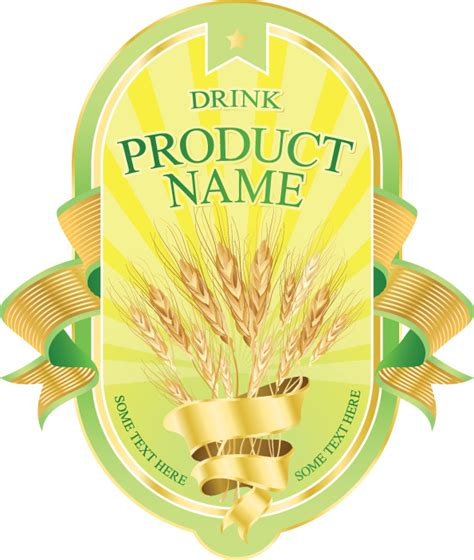 product label templates free product label design 04 vector free vector 4vector
