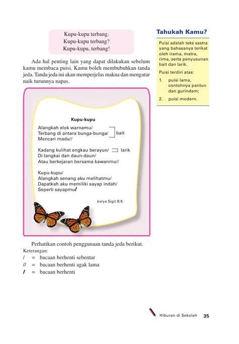 cara membuat puisi anak sd sd mi kelas05 bahasa indonesia membuatku cerdas edi