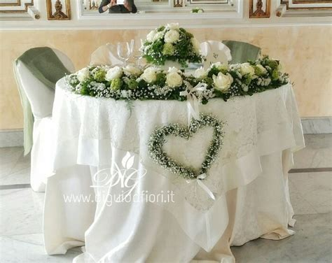tavoli per matrimoni addobbo floreale per tavolo sposi matrimoniando