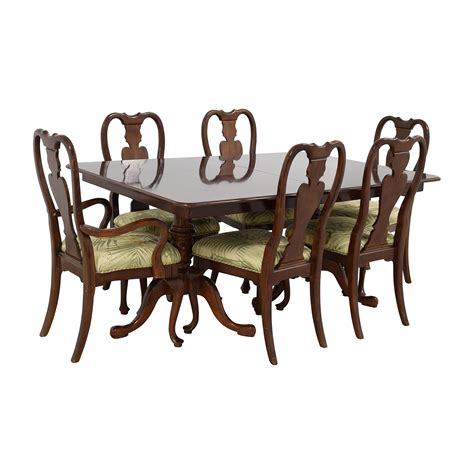two leaf dining table 83 extendable two leaf table with six