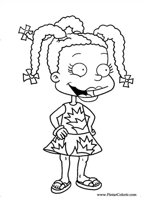 Drawings To Paint Colour Rugrats Print Design 017 90 S Nickelodeon Coloring Pages