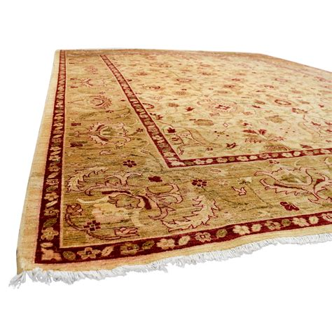 rugs with red accents 51 off pakistani red and beige wool rug decor