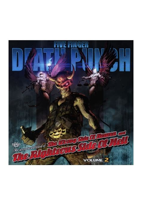 five finger death punch wrong side of heaven five finger death punch the wrong side of heaven and the