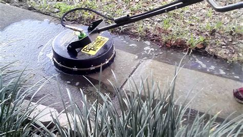 Surface Cleaner Pressure Washer Attachment   YouTube