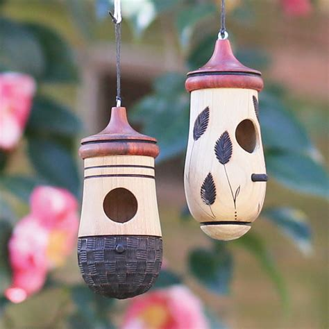 humming house turned wood hummingbird house north carolina outdoor decor