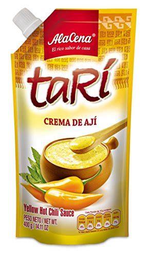 alacena crema de aji tari peruvian sauce 400 gr family - Alacena Crema De Aji Tari