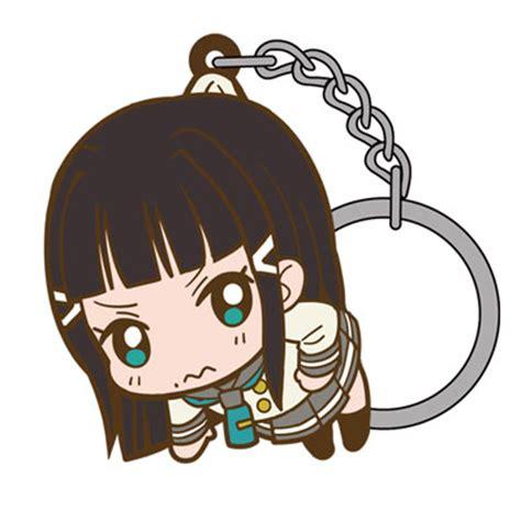 Rubber Keychain Live Kurosawa Dia amiami character hobby shop live