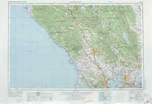 santa rosa topographic maps ca usgs topo 38122a1