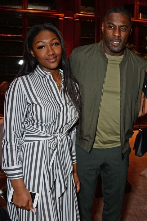 isan elba hanne norgaard idris elba has a 16 year old daughter and she looks