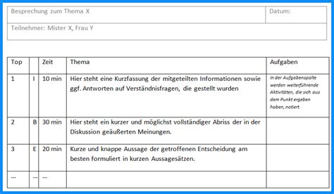Word Vorlage Meeting Protokoll 7 Protokoll Vorlage Business Template