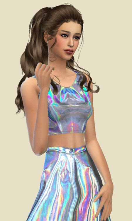 ariana sims 4 ariana grande search and sims 4 on pinterest