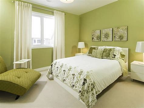 Green Paint Colors For Bedrooms | how to decorate bedroom with green colour interior