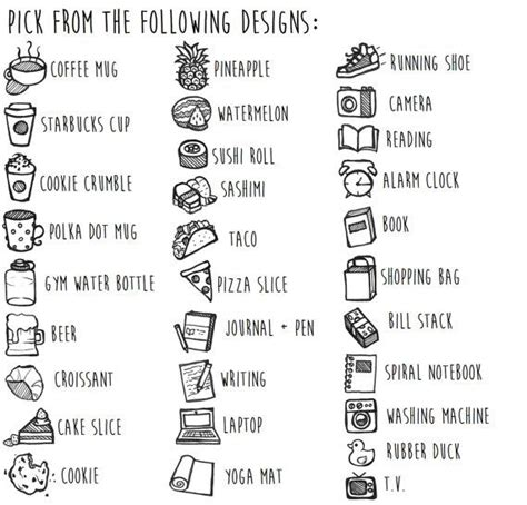 Custom Doodle custom doodle stickers by thecoffeemonsterzco on etsy