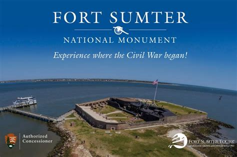 charleston boat tours fort sumter fort sumter tours the official digital guide to