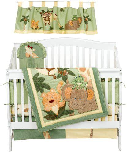 Jungle Safari Crib Bedding by Baby Bedding Nojo Jungle Babies 6 Crib Bedding Set