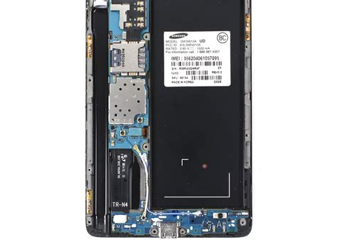 samsung galaxy note  antenna connectors replacement
