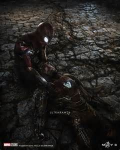 haunting art imagines iron mans death avengers