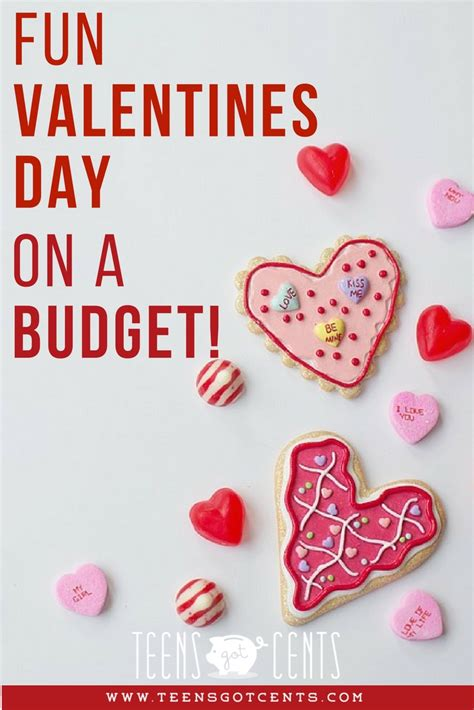 valentines day on a budget valentines day on a budget teensgotcents