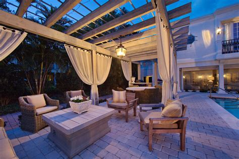 Florida Patio Designs Florida Historic Renovation Mediterranean Patio Ta By Clifford M Scholz Architects Inc
