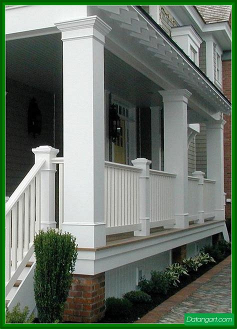 exterior beauteous image of front porch decoration using