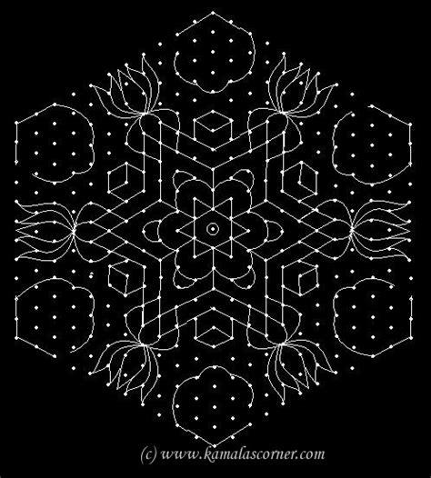 dot pattern rangoli 17 best images about rangoli kovalam muggu on pinterest