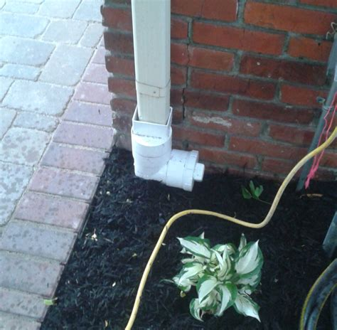 basement drainage solutions kc drainage solutions drains buried downspouts