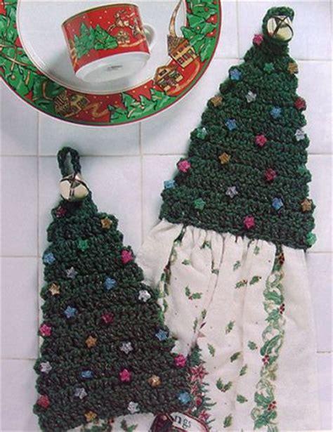 crochet pattern christmas tree topper christmas tree kitchen towel topper crochet pattern only